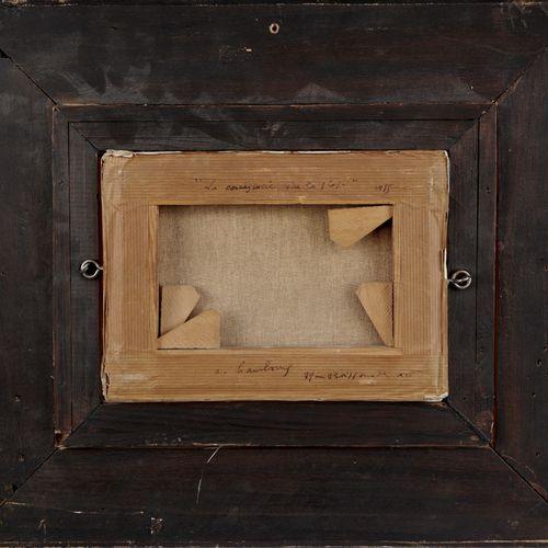 André HAMBOURG 1909 1999  SUR LA PLAGE, 1955  Huile sur toile signée en bas à dr…