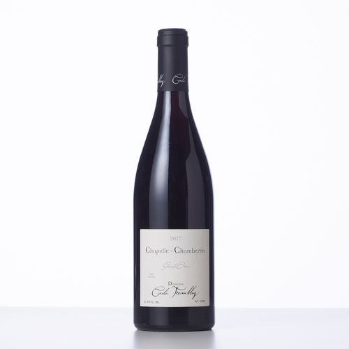 1 Bouteille CHAPELLE CHAMBERTIN (Grand Cru)  Année : 2017  Appellation : Domaine…