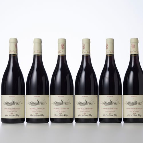 6 Bouteilles CHAMBOLLE MUSIGNY CLOS LE VILLAGE  Année : 2018  Appellation : Doma…