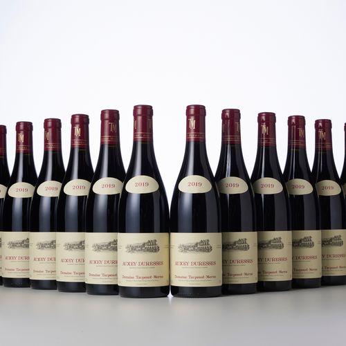 12 Bouteilles AUXEY DURESSES Rouge  Année : 2019  Appellation : Domaine Taupenot…