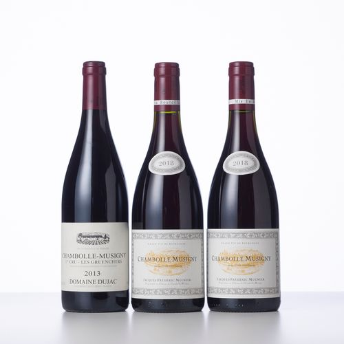1 Bouteille CHAMBOLLE MUSIGNY LES GRUENCHERS (1° Cru)  Année : 2013  Appellation…