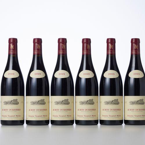 6 Bouteilles AUXEY DURESSES Rouge  Année : 2019  Appellation : Domaine Taupenot …