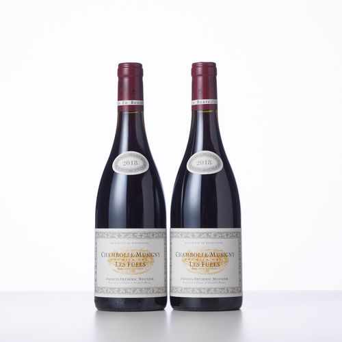 2 Bouteilles CHAMBOLLE MUSIGNY LES FUEES (1° Cru)  Année : 2018  Appellation : D…