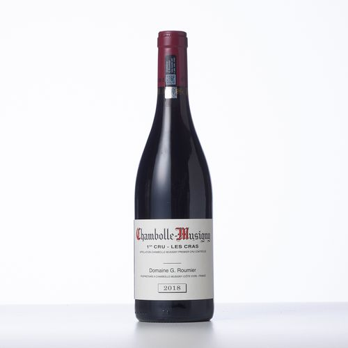 1 Bouteille CHAMBOLLE MUSIGNY LES CRAS (1° Cru)  Année : 2018  Appellation : Dom…
