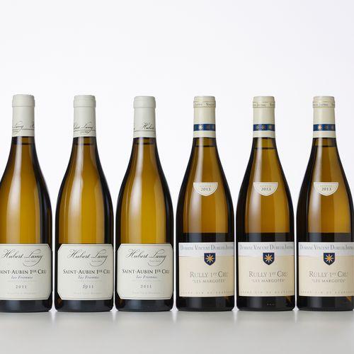 3 Bouteilles SAINT AUBIN LES FRIONNES Blanc (1° Cru)  Année : 2011  Appellation …