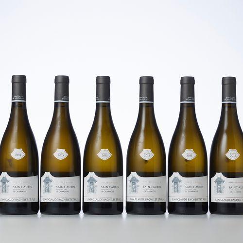 6 Bouteilles SAINT AUBIN LE CHARMOIS Blanc (1° Cru)  Année : 2015  Appellation :…