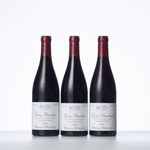 "3 Bouteilles GEVREY CHAMBERTIN ""LES JEUNES ROIS""  Année : 2014  Appellation : Do…"