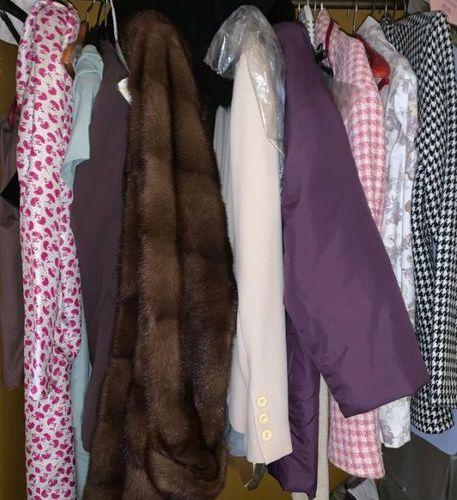 Manteau en vison 3/4 Claridge