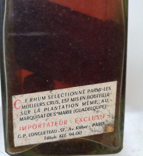 1 bouteille RHUM Vieux de la Guadalupe LONGUETEAU Cuvée de 1940