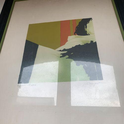Daniel RIBERZANI (1942)  Nus féminins  Deux estampes, signées en bas à droite.  …