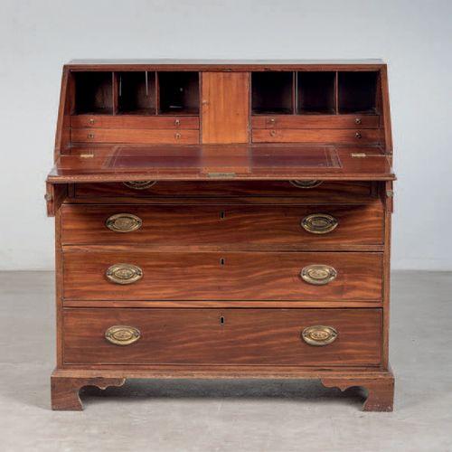 Secrétaire en bois d'acajou, époque XIXe siècle Dimensions : 104x104x48 cm Prix …