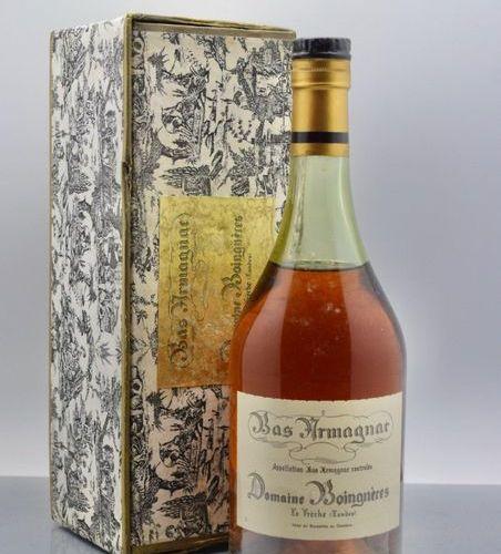 """1 bottle BAS ARMAGNAC """"Domaine de Boingnères"""", Lafite (MB)"""