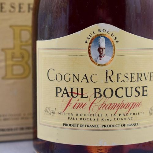 "1 bottle COGNAC ""Fine Champagne"", Paul Bocuse"