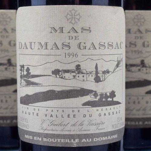 6 bottles VDP DE L'HÉRAULT, Mas Daumas Gassac 1996 (etla)