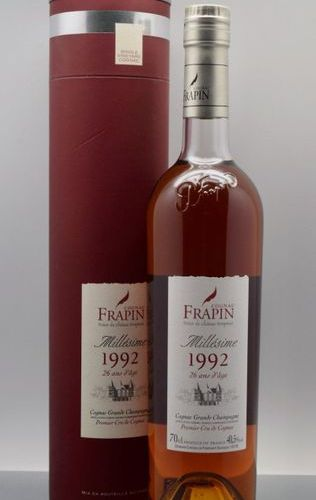 "1 bottle COGNAC ""Grande Champagne"", Frapin 1992 (26 years old)"