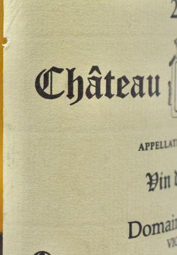 1 bottle CHÂTEAU CHALON, Macle 2003