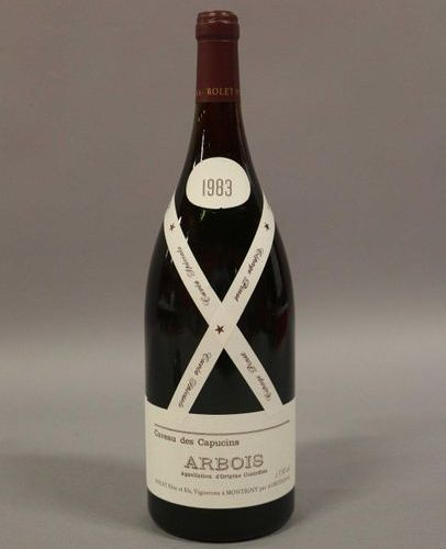 3 magnums ARBOIS ROUGE PINOTRolet 1983 (Lot sold with VAT included and recoverab…