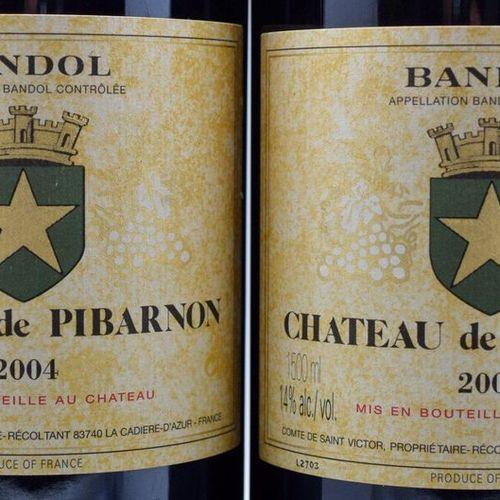2 magnums BANDOL Pibarnon 2004