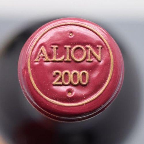 """2 bottles RIBERA DEL DUERO """"Alion"""", Bodegas y Viñedos 2000 (etlt)"""