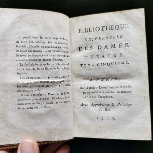 (Société de gens de lettres) 127 volumes Bibliothèque universelle des dames. (Pa…