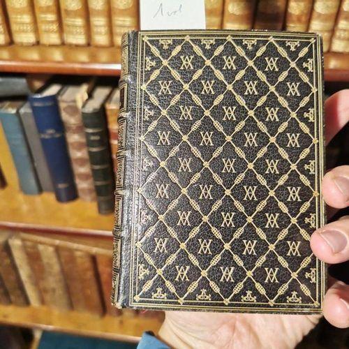 Reliure de Trautz Bauzonnet. Livre d'heures. Paris, Delaunay, 1841. In 16, plein…