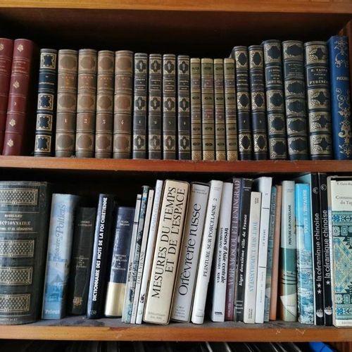 Contenu des deux bibliothèques dans la véranda. Ouvrages modernes.