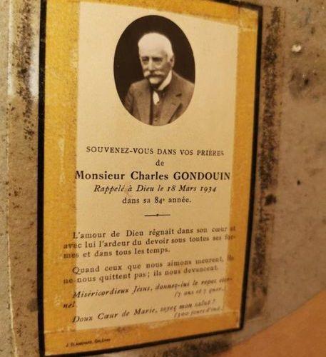 Louis Eugène COEDÈS (1810 1906) Portrait of Charles Gondoin (1851 1934) as a chi…