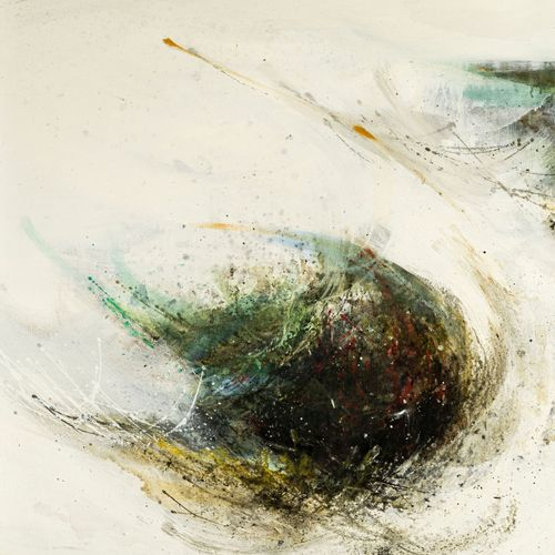 Hisao Domoto (1928 2013) , Composition, 1959, huile sur toile, signée, située et…