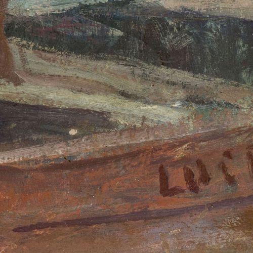 Maximilien Luce (1858 1941), Scène de Port, les Remorqueurs,1909, huile sur pan…