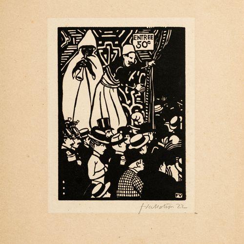 Félix Vallotton (1865 1925), d'après,Exposition Universelle I VI, 1901,6 bois …