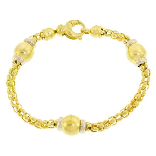 Bracelet 2 ors 750, long. 20 cm