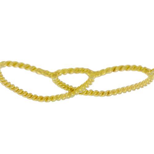 Lot composé d'un collier et d'un bracelet c'ursor 750, long. Collier 39 cm, lon…