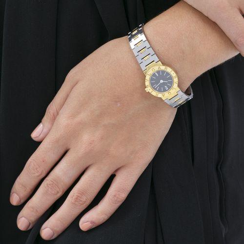 Bulgari, réf. BB 23 GS, montre bracelet en or et acierMouvement: cal. ETA 956.03…