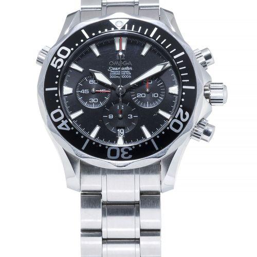 Omega, Seamaster, Planet Ocean, réf.232.30.46.51.01.001, montre bracelet chrono…