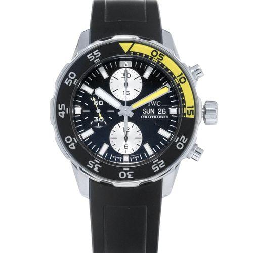 IWC, Aquatimer, réf. IW376702, montre chronographe en acier, circa 2014Mouvement…