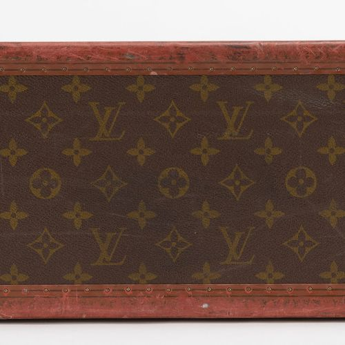 Louis Vuitton, valise rigide Bisten 70en toile enduite Monogram, années 1970, c…