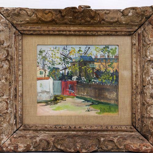 UTRILLO Maurice (1888 1955) UTRILLO Maurice (1888 1955). Le Moulin de la Galette…