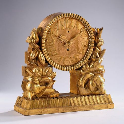 A mantel clock, attributed to Dagobert Peche, designed c. 1922, executed by Max …