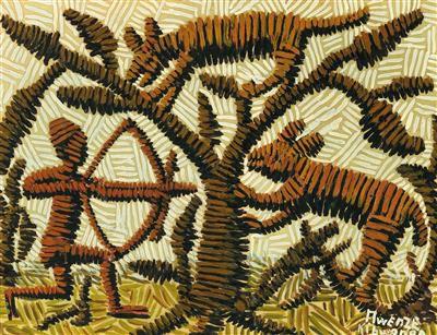 Mwenze Kibwanga * (Shaba, DR Kongo 1925 1999 Lubumbashi, DR Kongo) (Shaba, DR Co…