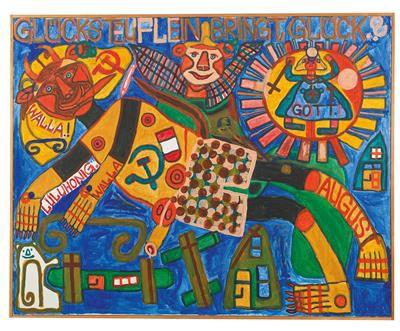 August Walla * (Klosterneuburg 1936 2001 Gugging) (Klosterneuburg 1936–2001 Gugg…
