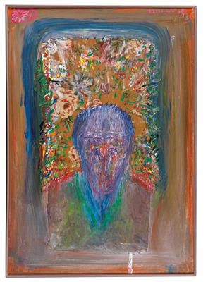 "Franz Ringel * (Graz 1940 2011) (Graz 1940–2011) ""Denkmal für Odilon Redon"", sig…"