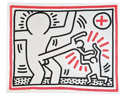 Keith Haring (Kutztown 1958 1990 New York) (Kutztown 1958–1990 New York) Untitle…