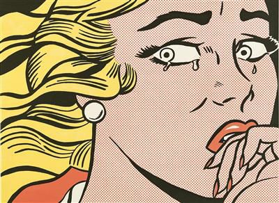 Roy Lichtenstein (New York 1923 1997) (New York 1923–1997) Crying Girl, 1963, si…