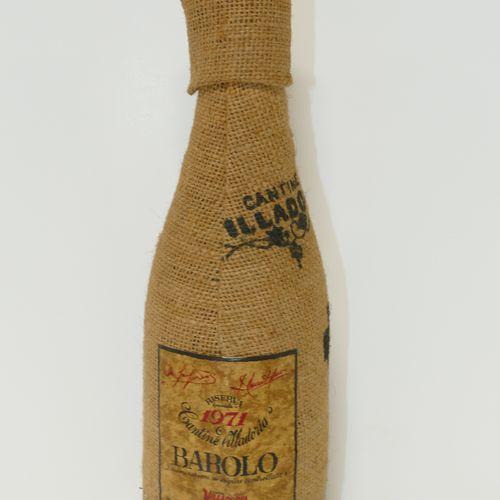 1 Btle Barolo Reserva Special 1971 Cantine Villadoria en paillon 专家: Emilie and …