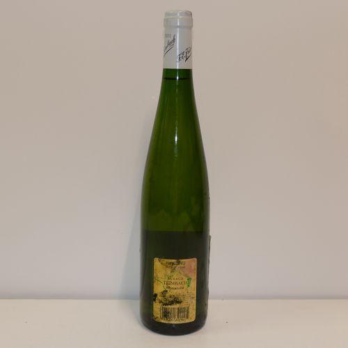 1 Btle Riesling Clos Sainte Hune 2003 Domaine Trimbach étiquette tachée contre é…