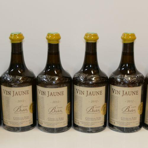 6 Btles Vin Jaune 2012 Domaine Badoz IC 10/10 PM Experts : Emilie et Robert Gorr…