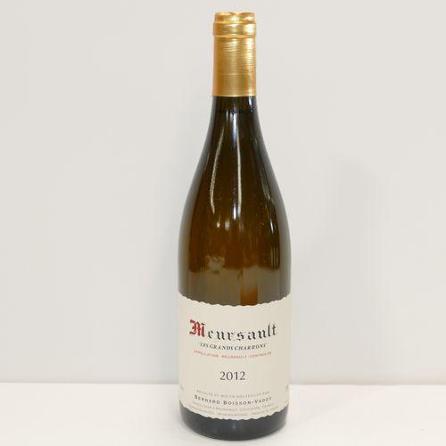 1 Btle Meursault Les Grands Charrons 2012 Domaine Bernard Boisson Vadot label ve…