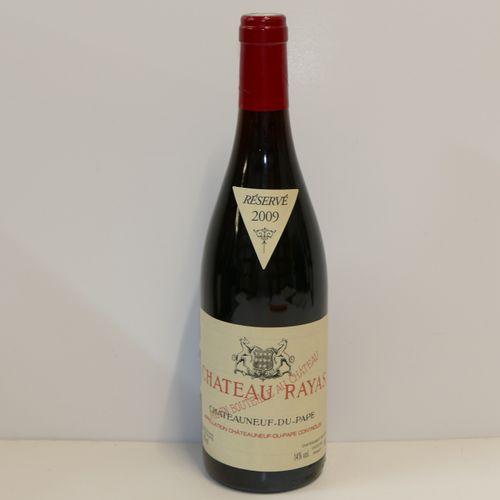 1 Btle Château Rayas rouge 2009 IC 10/10 PM Tva incluse et récupérable pour les …