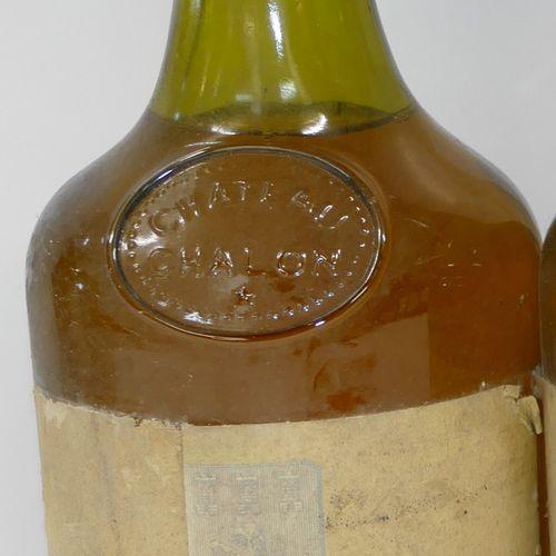 1 Btle Château Chalon 1985 Fruitière Vinicole de Voiteur 胶囊损坏,标签脏污和损坏 专家:Emilie …
