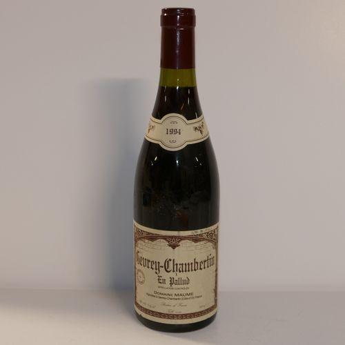 1 Btle Gevrey Chambertin en Pallud 1994 Domaine Maume 标签上的手写提及 IC 10/10 PM 专家:Em…